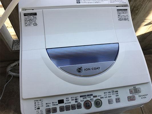 ジモティーで買った洗濯機